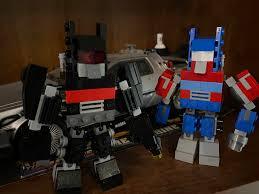 I made a Nemesis Version to go along my Lego Angry Birds Optimus. :  transformers