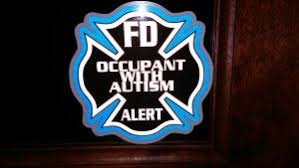 The Autism Alert Decal Fd Alert Occupant With Autism Town Of Hammonton