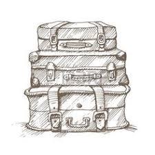 Le migliori 7 immagini su valige disegni | valigia, disegni, immagini