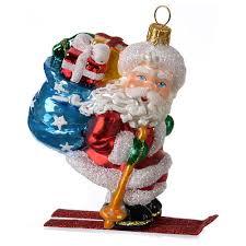 ornament on ski