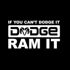 Cant Dodge It Ram It Truck Decal Sticker Aftermarket Replacement Non Factory Custom Sticker Shop