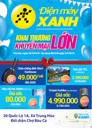 Khai trương siêu thị Điện máy XANH Trung Hòa, Đồng Nai