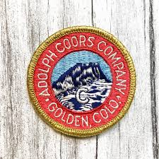 "Adolph Coors Company. Golden, Colorado. 2.75"" Vintage Patch – Megadeluxe"