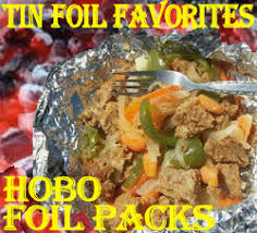 pork hobo tin foil pack cing dinners