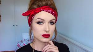 pin up make up step by step