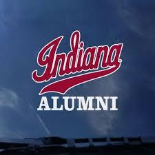 Indiana Hoosiers Colorshock Alumni Decal Official Iu Hoosiers Team Store