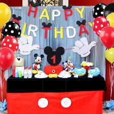 Paquete De 100 Globos Mickey Mouse Para Bebe Cumpleanos Baby