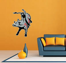 Professional Bull Riders Pbr Room Wall Garage Decor Sticker Decal 18 X25 For Sale Online