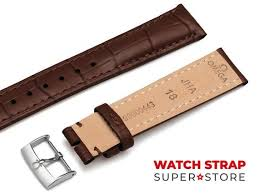 genuine leather strap for omega watches