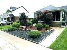 modern front home garden design the home