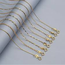 s925 silver necklace female rose gold