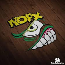 Nofx Stickers Graffiti Illustration Art Logo Logo Sticker