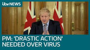 Boris Johnson outlines 'drastic action ...
