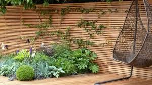 Horizontal Fence Panels Modern Garden Fence Design Ideas