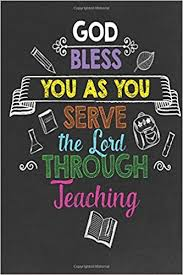 buy god bless you as you serve the lord through teaching