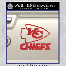 Kansas City Chiefs Decal Sticker A1 Decals