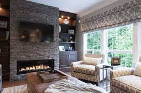 houzz fireplace family room traditional