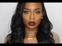 copper eyes lip makeup