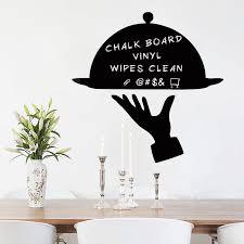 Creative Chalkboard Decal Kitchen Fridge Chalkboard Stickers Vinyl Wall Decal For Refrigerator Dining Room Modern Home Decor Wall Stickers Aliexpress
