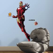 Kids Wall Decals For Bedroom Are Easy To Put Up On Wall Peel Off Best Bedroom Decor For Kids 12 Piece Augmented Reality Marvel Stickers For Kids Rooms Marvel Iron Man