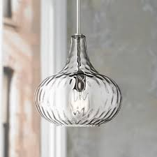 brushed nickel mini pendant