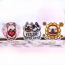Big Discount 6fc9b4 34 Pcs Anime Love Dog Couple Paper Stickers Crafts And Scrapbooking Stickers Kids Toys Book Decorative Sticker Diy Stationery Cicig Co