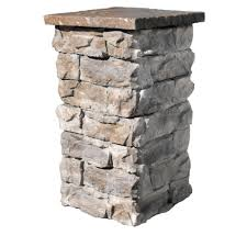 Natural Concrete Products Co Brown 36 In Outdoor Decorative Column Fscb36 The Home Depot Stone Decor Stone Columns Stone Pillars