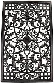 Amazon Com Nuvo Iron Rectangular Decorative Insert For Fencing Gates Home Garden Acw61 Outdoor Decorative Fences Garden Outdoor