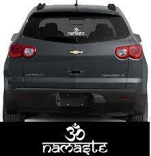 Buddha Hindu Sticker Om Namaste Decal Window Bumper Ebay