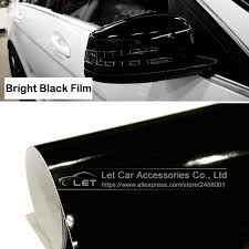 Car Styling Black Bright Glossy Black Vinyl Car Decal Wrap Sticker Black Gloss Film Wrap Retail For Hood Roof Motorcycle Scooter Glossy Black Vinyl Film Wrapblack Vinyl Aliexpress