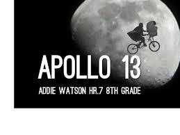 Apollo 13 by Addie Watson