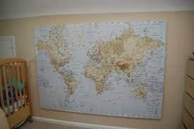 ikea world map canvas print wanted in