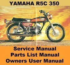yamaha rd350 owners manual ebay