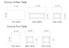 standard couch dimensions