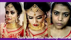 dark skin indian bridal makeup tutorial
