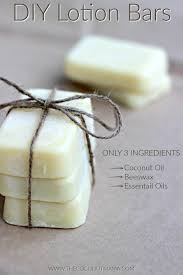 lotion bar recipe with healing coconut