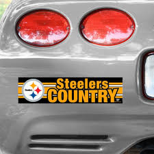Pittsburgh Steelers Wincraft Country Bumper Sticker