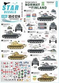 German Tanks In Norway Finland Ii Decal Hobbysearch Military Model Store