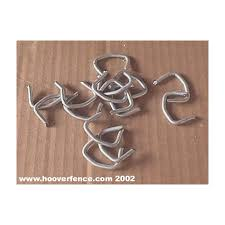 Chain Link Fence Hog Rings Steel Hoover Fence Co