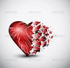 broken heart graphics designs