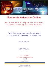PDF) From Outsourcing and Offshoring Strategies to Extreme Outsourcing