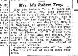 Ida Roberts Troy - Newspapers.com
