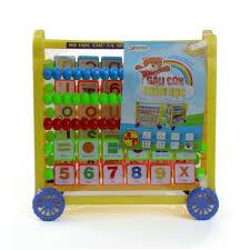 Đồ chơi bảng tính gấu con chăm học Anto98 - Kids Plaza