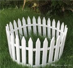2020 White Plastic Picket Fence Miniature Home Garden Christmas Xmas Tree Wedding Party Decoration Durable Diy Accessories From Star Boy 0 78 Dhgate Com