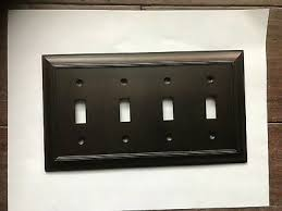 allen roth oil rubbed bronze quad