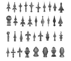 Wrought Iron Parts Supplier For Panels Post Gates