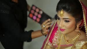 modern bridal makeup hairstyle