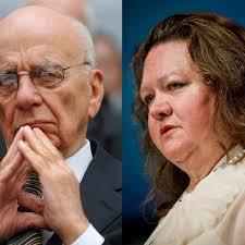 Gina Rinehart and Rupert Murdoch: a ...