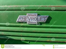 Old Vintage Cheverolet Car Decal Editorial Stock Image Image Of Truck Things 109776234