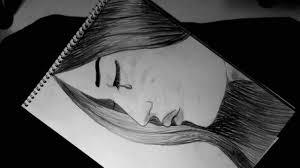 رسم فتاة تبكي للمبتدئين رسم سهل جدا خطوه بخطوه Youtube